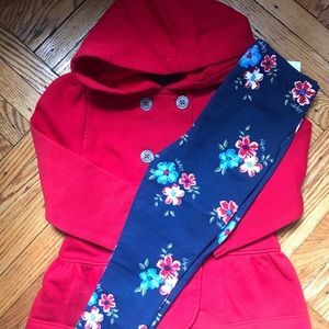 Toddler Girls Tommy Hilfiger Jacket Set